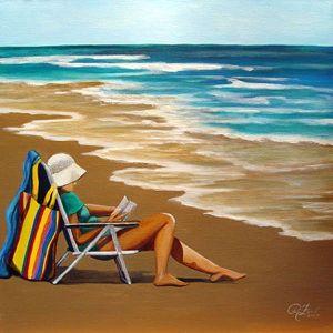 Solitude-Woman-at-the-Beach